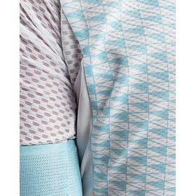 Craft Route Fietsshirt korte mouwen Heren blauw/turquoise